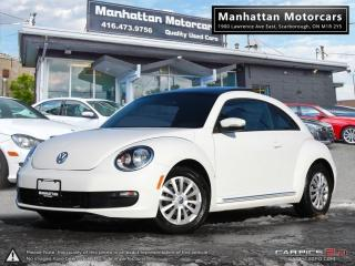 Used 2016 Volkswagen Beetle 1.8T |AUTO|CAMERA|PHONE|PANORAMIC|42000KM for sale in Scarborough, ON