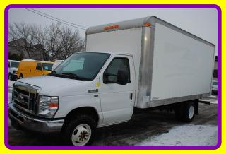 Used 2013 Ford E450 Econoline 16' Cube Van with Ramp, A/C for sale in Woodbridge, ON