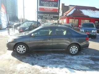 Used 2009 Toyota Corolla 5SPD for sale in Scarborough, ON