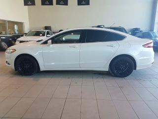 Used 2013 Ford Fusion SE - Heated Leather, B/U Cam+Sensors, Nav + Sunroof! for sale in Red Deer, AB