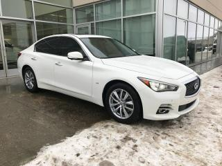 Used 2014 Infiniti Q50 ALL WHEEL DRIVE/LANE DEPARTURE/BLIND SPOT/NAVIGATION for sale in Edmonton, AB