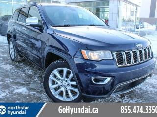 Used 2017 Jeep Grand Cherokee SUNROOF/LEATHER/LOWKMS for sale in Edmonton, AB