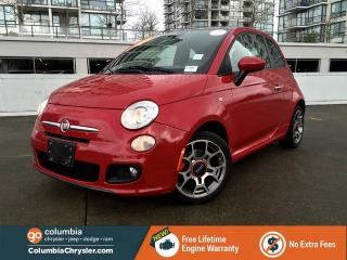 Used 2013 Fiat 500 Sport, Leather Seats, Sunroof for sale in Richmond, BC