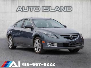 Used 2009 Mazda MAZDA6 GT LEATHER SUNROOF for sale in North York, ON