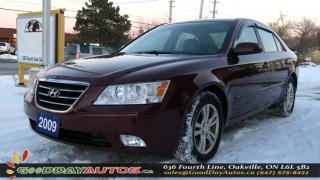 Used 2009 Hyundai Sonata GLS|NO ACCIDENT|ALLOYS|HEATED SEATS|CERTIFIED for sale in Oakville, ON