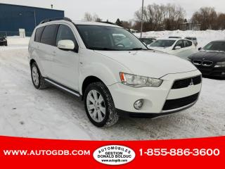 Used 2012 Mitsubishi Outlander 4WD XLS  7 PASSAGERS  AWD CUIR TOIT for sale in Lévis, QC