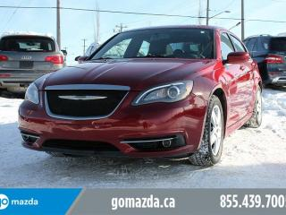 Used 2013 Chrysler 200 S POWER OPTIONS LOADED 2 SETS OF TIRES for sale in Edmonton, AB