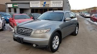 Used 2005 Infiniti FX35 AWD LEATHER ROOF ALOYS for sale in Etobicoke, ON