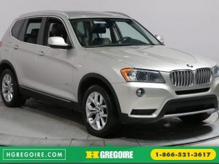 Used 2013 BMW X3 28I XDRIVE TOIT CUIR for sale in Saint-leonard, QC