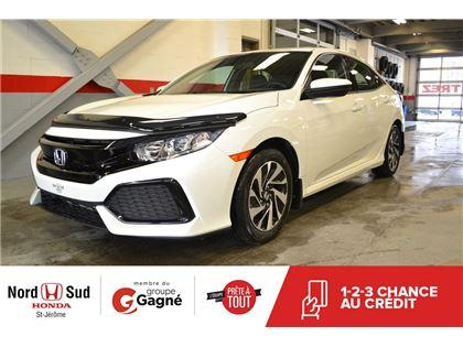 Nord Sud Honda >> Used 2017 Honda Civic Lx For Sale In St Jerome Quebec Carpages Ca