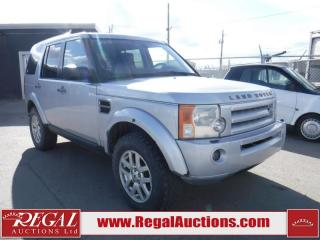 Used 2009 Land Rover LR3 4D Utility V6 4WD for sale in Calgary, AB