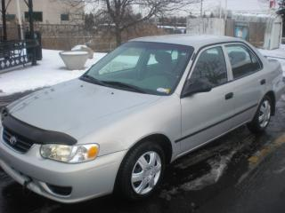 Used 2002 Toyota Corolla CE for sale in Mansfield, ON