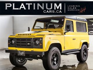 Used 1997 Land Rover Defender 2 DOOR, HARD TOP, CUSTOM LEATHER, RARE for sale in North York, ON