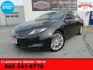 Used 2013 Lincoln MKZ TECH RESERVE ADAP-CC NAV PANO THX COOLED-SEATS LD BS for sale in St Catharines, ON