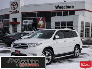 Used 2013 Toyota Highlander LTD! SIDE STEPS, TOW PACKAGE, LEATHER! for sale in Etobicoke, ON