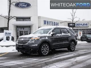 Used 2015 Ford Explorer XLT, Lth, roof, navi, factory certified for sale in Mississauga, ON