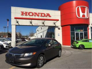 Used 2012 Honda Civic LX SOLD for sale in Scarborough, ON