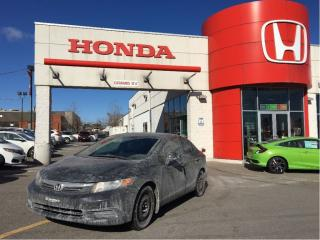 Used 2012 Honda Civic EX, low ileage, one owner, clean carproof for sale in Scarborough, ON