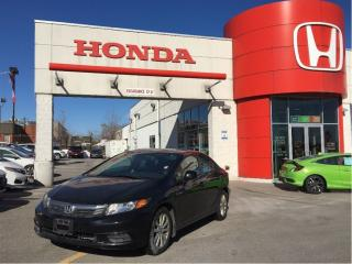 Used 2012 Honda Civic EX, one owner, only 102, 000 km, priced right for sale in Scarborough, ON