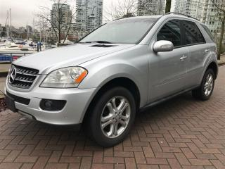 Used 2008 Mercedes-Benz ML-Class DIESEL,LOCAL,DVD ,MINT CONDITION for sale in Vancouver, BC