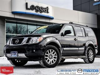 Used 2012 Nissan Pathfinder LE 4X4 for sale in Burlington, ON