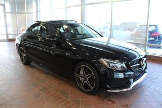 Used 2017 Mercedes-Benz C-Class C43 Amg Awd, Toit for sale in Quebec, QC