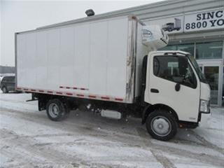Used 2013 Hino 195 Diesel 16 1/2 ft refridgerated box for sale in Richmond Hill, ON