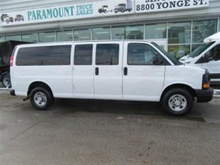 Used 2016 Chevrolet Express 3500 gas 15 passenger van loaded X 2 available for sale in Richmond Hill, ON