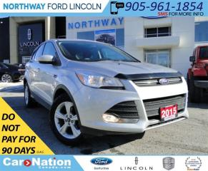 Used 2015 Ford Escape SE | REAR CAMERA | HEATED SEATS | LOW KM | for sale in Brantford, ON