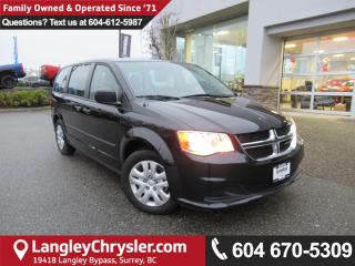 Used 2016 Dodge Grand Caravan SE/SXT <b>*ACCIDENT FREE*POWER GROUP*<b> for sale in Surrey, BC