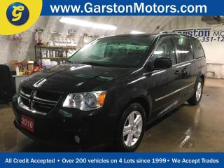 Used 2016 Dodge Grand Caravan CREW PLUS*LEATHER*DUAL REAR DVD PLAYER*HEATED STEERING WHEEL/FRONT SEATS*BACK UP CAMERA*DUAL ROW STOW N GO*U CONNECT PHONE*TRI ZONE CLIMATE CONTROL w/ for sale in Cambridge, ON