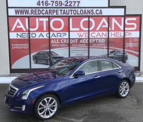 Used 2014 Cadillac ATS 2.0L Turbo Premium ATS-ALL CREDIT ACCEPTED for sale in Scarborough, ON