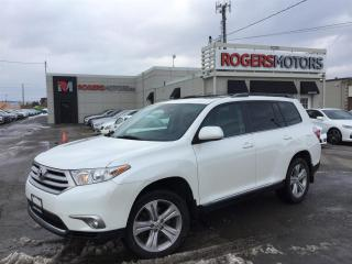 Used 2013 Toyota Highlander 4WD - 7 PASS - LEATHER - SUNROOF for sale in Oakville, ON