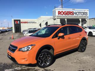 Used 2014 Subaru XV Crosstrek LTD - NAVI - LEATHER - REVERSE CAM for sale in Oakville, ON