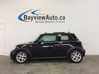 Used 2013 MINI Cooper - ALLOYS|PANOROOF|PUSH STRT|HTD LTHR|BLUETOOTH! for sale in Belleville, ON