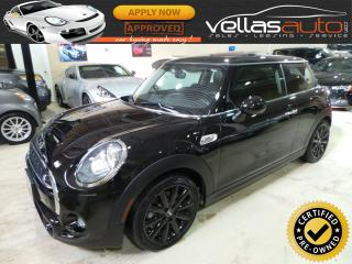 Used 2017 MINI 3 Door COOPER S| 6-SPEED| PANO RF| LEATHER for sale in Vaughan, ON