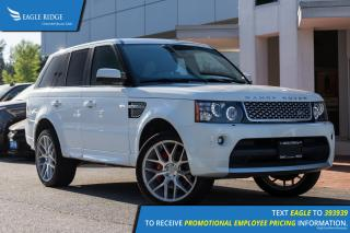 Used 2013 Land Rover Range Rover Sport Supercharged Sunroof, Nav, Heated Seeats, Steering Wheel Controls for sale in Port Coquitlam, BC