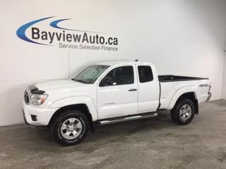 Used 2015 Toyota Tacoma TRD- DBL CAB|4x4|HITCH|A/C|REV CAM|BLUETOOTH! for sale in Belleville, ON