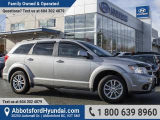 Used 2016 Dodge Journey SXT/Limited LOW KILOMETRES, BC OWNED & ACCIDENT FREE for sale in Abbotsford, BC