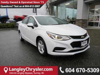 Used 2017 Chevrolet Cruze LT Auto <b>*APPLE CARPLAY*SUNROOF*BACKUP CAMERA*</B> for sale in Surrey, BC