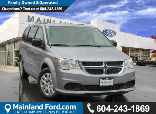 Used 2016 Dodge Grand Caravan SE/SXT ***ACCIDENT FREE*** for sale in Surrey, BC