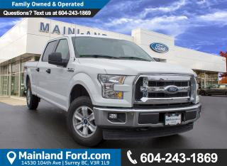 Used 2017 Ford F-150 XLT LOW KMS, ACCIDENT FREE, BC LOCAL for sale in Surrey, BC