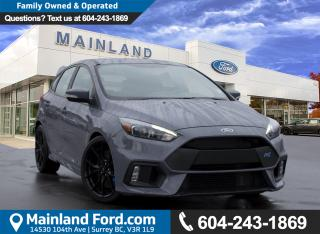 New 2017 Ford Focus RS Base for sale in Surrey, BC
