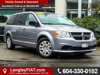 Used 2016 Dodge Grand Caravan SE/SXT NO ACCIDENTS, B.C OWNED for sale in Surrey, BC