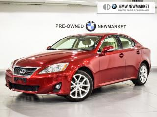 Used 2012 Lexus IS 250 AWD 6A for sale in Newmarket, ON