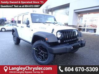 New 2018 Jeep Wrangler JK Unlimited Sport 4x4 for sale in Surrey, BC
