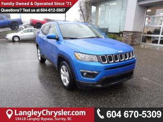 New 2018 Jeep Compass North APPLE CARPLAY, Navigation Group, GOOGLE ANDROID for sale in Surrey, BC