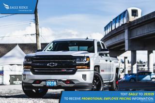 New 2018 Chevrolet Silverado 1500 2LT Backup Camera, Redline Edition for sale in Port Coquitlam, BC