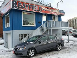 Used 2013 Honda Civic LX Sedan **A/C/Bluetooth/Heated Seats** for sale in Barrie, ON