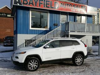 Used 2014 Jeep Cherokee Limited 4x4 **V6/Leather/Panoramic Roof** for sale in Barrie, ON